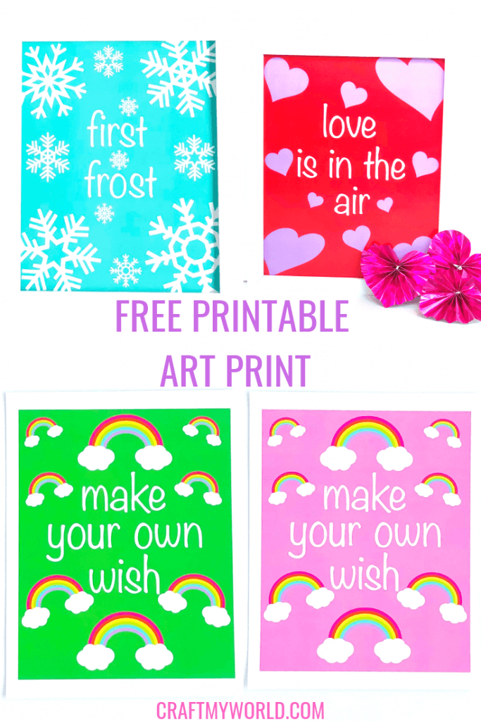 Free printable Art print photo gallery