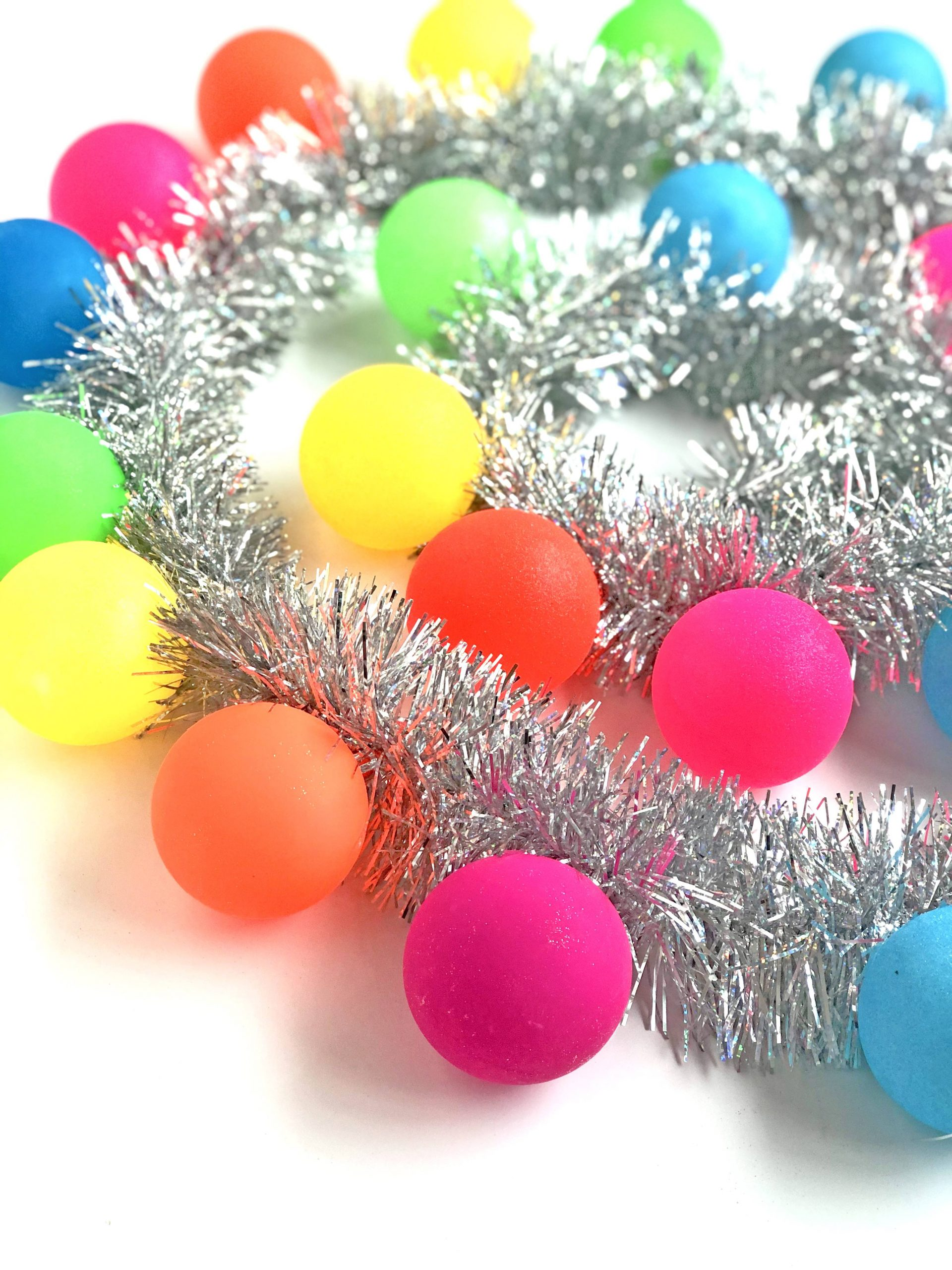 Colorful ornaments for Christmas